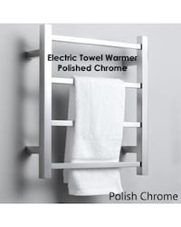 Electric Towel Warmer - Polished Chrome - NEW, Open Box Clovis, 93612