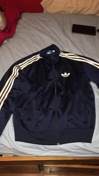 Blue adidas zip up hoodie Ajax, L1S 2A9