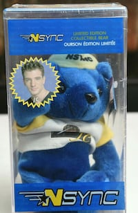NSYNC JC Limited Edition Collectible Bear Hyattsville, 20781