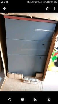 BNIB office file cabinet with lock $200