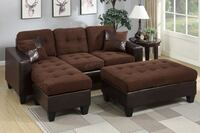 New Couch Sectional. Chocolate. Free Delivery ! Los Angeles, 90019