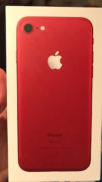 iPhone 7 red edition 128 GB  Ørje, 1870