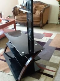 black and gray TV stand Houston, 77073