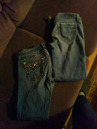 Miss me jeans and American eagle woman size 5 Great Falls, 59405