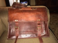 Leather messenger/briefcase  Hendersonville, 37075