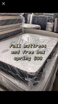 Mattress FREE BOX SPRING {same day delivery} Baltimore, 21222
