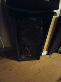 black and brown subwoofer speaker Waterloo, N2L 3V5