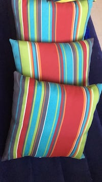 blue, red, and green striped throw pillow Lafayette, 70501
