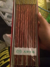 Red box Chop Sticks