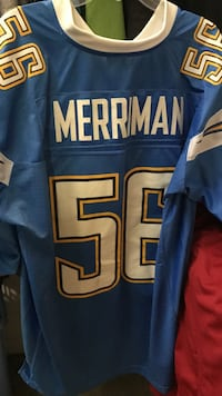 Blue and white merriman 56 football jersey Trabuco Canyon, 92679