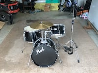Pearl roadshow 4 piece with extras Round Hill, 20141