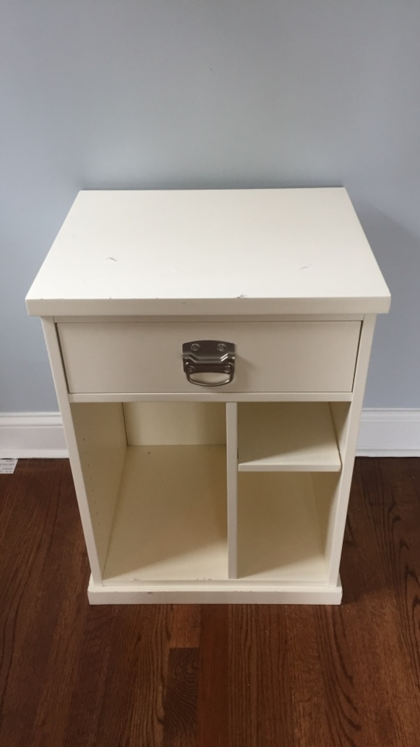 Pottery Barn Cabinet Designed To Hold Computer Tower Please Note Top Of Cabinet It Chipped