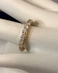 14k gold ladies diamond eternity wedding ring band *Compare at $2,200 Vaughan, L4J