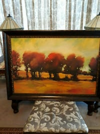 Large fall scene picture in beautiful frame  Hagerstown, 21742