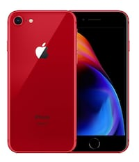 Apple iPhone 8 (PRODUCT) RED - 64GB - (ulåst) A1863 (CDMA + GSM) OSLO