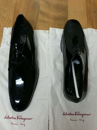 pair of black leather dress shoes Alexandria, 22304