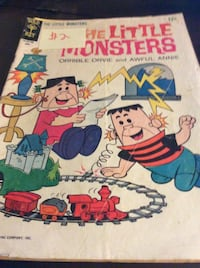 JUST REDUCED comic the Little Monsters
