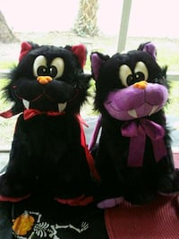 two black and pink bear plush toys Coral Springs, 33071