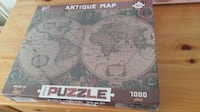 Brand New 1000 piece antique world map jigsaw puzzle Burnaby