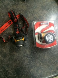 2 Hard hat lights. One still in package  Spruce Grove, T7X 4R9