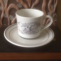 Royal doulton asian dawn cup and saucer set...set
