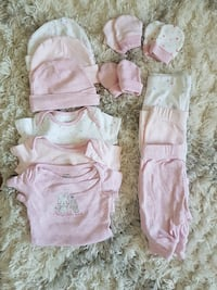 12 Piece 0-3 Month Set London, N6H 4T1