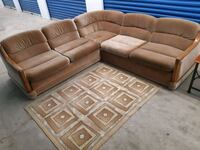 Suede Sectional Mississauga, L5A 1Y5