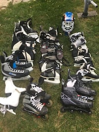 Assorted pairs of skates from $20 Mississauga, L5M 2L2