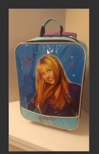 Hannah Montana roll on luggage