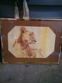 Animal framed picture Knoxville, 37914