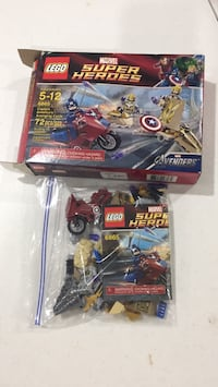 LEGO Captain America's Avenging Cycle (Super Heroes) Burke, 22015