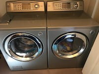 two gray front-load clothes washer and dryer set Laval, H7M 2P6