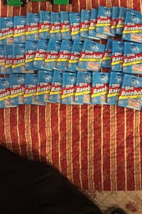 1992 topps baseball packs sealed unopened , 40cents  each 13 for $5 Beltsville, 20705