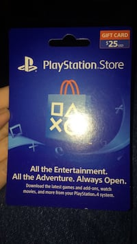 PlayStation store card $5 OFF Augusta, 30815