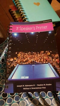 The Speaker's Primer 2nd edition Annandale, 22003