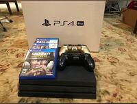 PS4 pro with games and controllers  Hackettstown, 07840