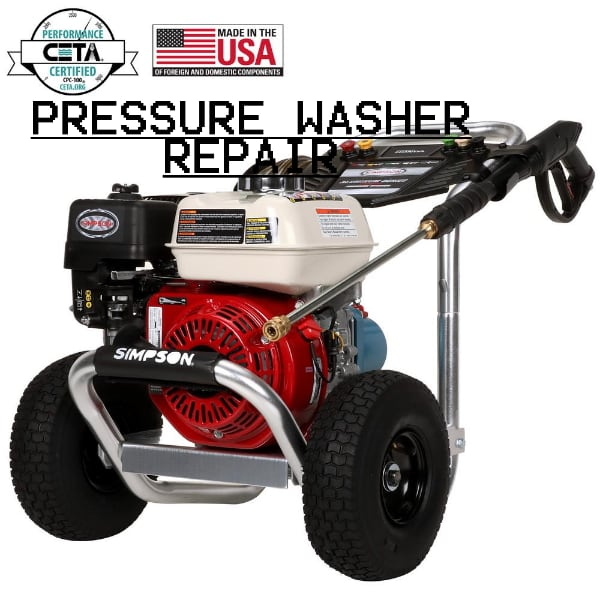 READ THE AD DESCRIPTION CAREFULLY BEFORE MESSAGING ME - Pressure Washer Repair