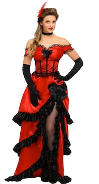 Halloween saloon girl dress Airdrie, T4B 1S9