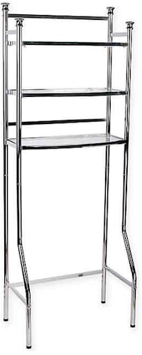 Chrome Bathroom Shelf