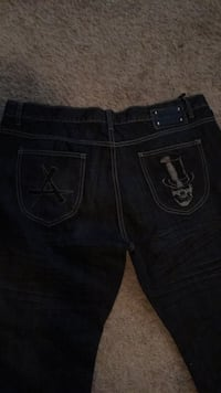 black True Religion denim bottoms Silver Spring, 20902