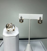 14k Omega ring and earrings Miami, 33144