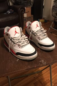 FIRE RED 3s  New York, 11378
