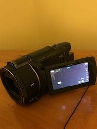 Sony Camcorder black model FDR -AX 53. Excellent condition.  Great price!  With new memory card! Ellicott City, 21043