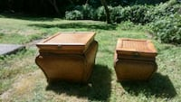brown wicker picnic table and chair set Langley, V2Y
