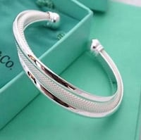 Silver Cable Adjustable Bangle NWOT's Gainesville, 20155
