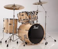 Pearl Vision Series Birch Drum Kit - Everything Included in Pic Brampton, L6S 1L1