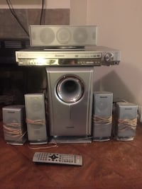 Panasonic SC-HT720 5 Disk Home Theater System Charlotte, 28209