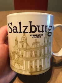 Salzburg Starbucks Global Icon Series City Mug (NEVER USED) Arlington, 22201