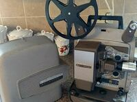 Bell & Howell autoload movie projector Columbia