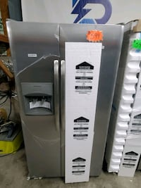 New Side by Side Refrigerator Stainless Steel